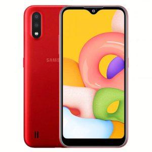 گوشی موبایل سامسونگ Samsung Galaxy A01 Dual SIM 16GB-Red