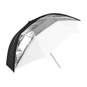 چتر گودکس Godox Umbrella UB-006 black/silver/white Dual Duty 101cm