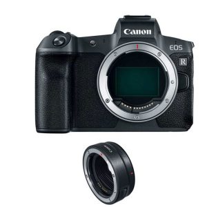 دوربین بدون آینه کانن Canon EOS R Mirrorless Camera Body+Mount Adapter