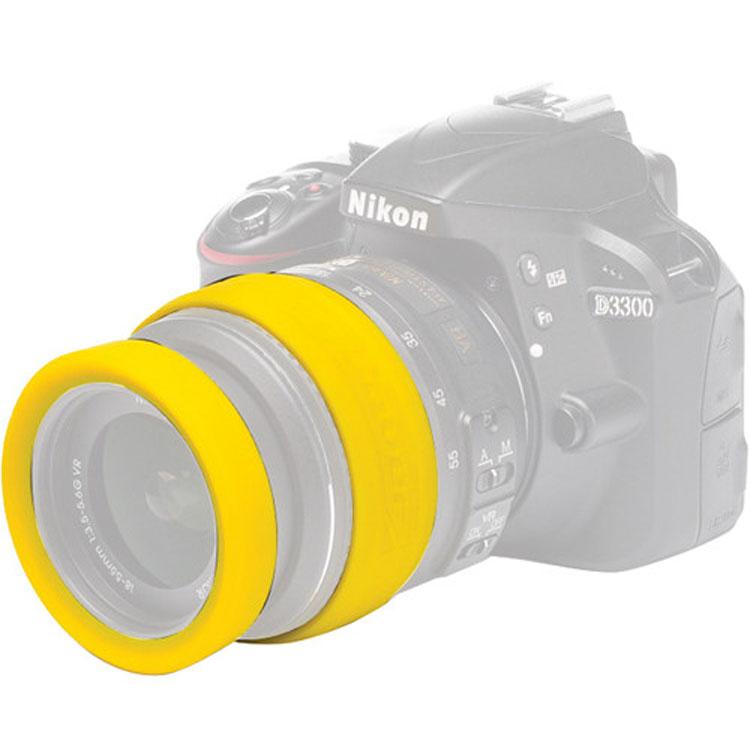 محافظ لنز ایزی کاور EasyCover 77mm Lens Rim زرد