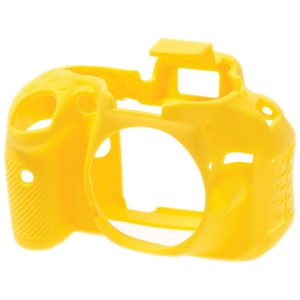 کاور دوربین ایزی کاور Nikon D5200 رنگ زرد