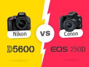 نیکون Nikon D5600 در برابر Canon 250D، چرا بخرید، چرا نخرید؟!