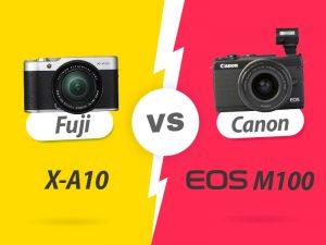 فوجی X-A10 در برابر Canon M100، چرا بخرید، چرا نخرید؟!