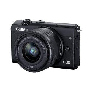 دوربین کانن M200 با لنز 15-45 میلیمتر