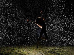 نحوه ایجاد پرتره بارانی در نور روز