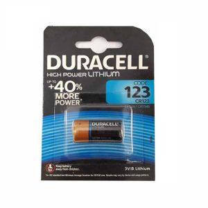 Duracell CR123 Battery