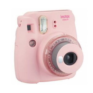دوربین عکاسی چاپ سریع فوجی Fujifilm instax mini 9 Instant Film Camera Clear Pink