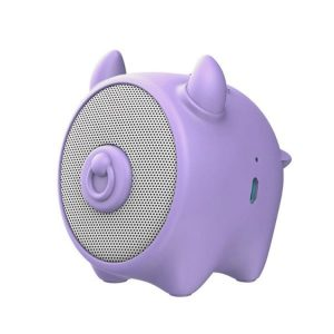 اسپیکر بلوتوثی بیسوس Baseus NGE06-05 Chinese Zodiac Wireless Speaker-Cow E06 Purple