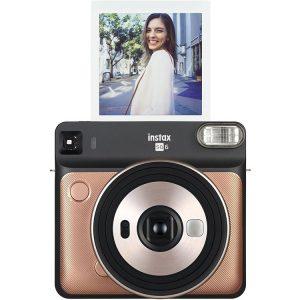 دوربین فوجی Fujifilm instax SQUARE SQ6 Gold