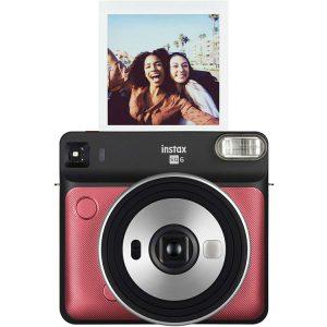 دوربین عکاسی چاپ سریع فوجی فيلم Fujifilm instax SQUARE SQ6 Red