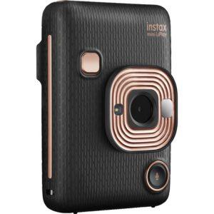 دوربین عکاسی چاپ سریع فوجی فيلم Fujifilm instax Mini LiPlay Hybrid Instant Camera black