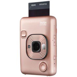 دوربین عکاسی چاپ سریع فوجی فيلم Fujifilm instax Mini LiPlay Hybrid Instant Camera blush-Gold