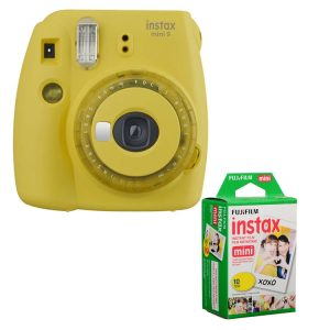 دوربین چاپ فوری فوجی instax mini 9 Yellow