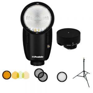 فلاش پروفوتو همراه لوازم جانبی profoto A1X off camera flash kit for nikon