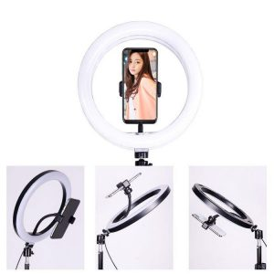 رينگ لايت Dimmable 13 inch+سه پايه