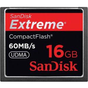کارت حافظه SanDisk 16GB 60MB/s SDCFX-016G-A61
