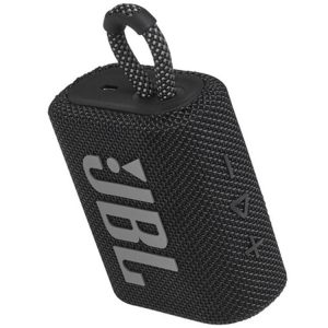 اسپیکر بلوتوثی قابل حمل جی بی ال (JBL Go 3 Portable Bluetooth Speaker(black