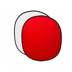 فون پرتابل قرمز/سفید Back ground 200x150cm