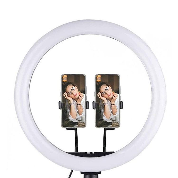 رينگ لايت Ring fill light 33cm+سه پايه نور