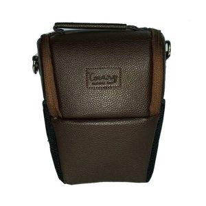 کیف دوربین ترنگ کوچک قهوه ای