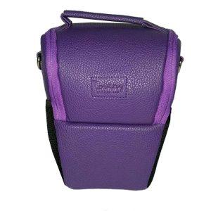 کیف دوربین ترنگ بزرگ بنفش Torang Larg zoom camera bag