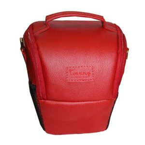 کیف دوربین ترنگ کوچک قرمز
