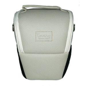 کیف دوربین ترنگ بزرگ طوسی روشن Torang Larg zoom camera bag