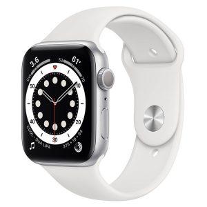 اپل واچ سری ۶ نقره ای