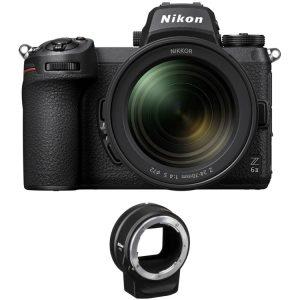 دوربین عکاسی نیکون Nikon Z6 II camera + لنز و آداپتور