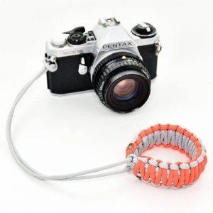 بند دوربین مچی پاراکورد طوسی و نارنجی کد 36