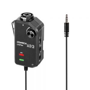 رابط تک کاناله میکروفن و دوربین یا گوشی کامیکا COMICA LINKFLEX AD2