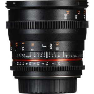 لنز سینمایی سامیانگ Samyang 50mm T1.5