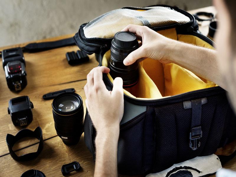 راهنمای جامع خرید کیف دوربین