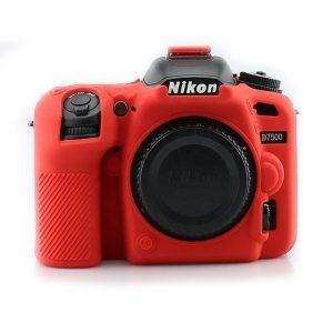 کاور ژله ای قرمز مشابه اصلی Nikon D7500 cover