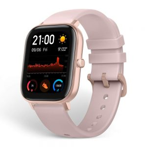 ساعت هوشمند آمیزفیت Amazfit GTS GLOBAL smartwatch-Rose Pink