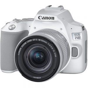دوربین کانن EOS 250D 18-55mm STM-سفید