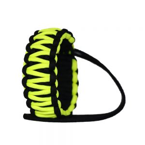 بند دوربین مچی مشکی-سبز مدل پاراکورد