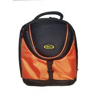 کوله پشتی طرح نیکون (Nikon Backpack (Orange