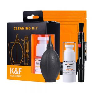 کیت تمیز کننده لنز کی اند اف K&F