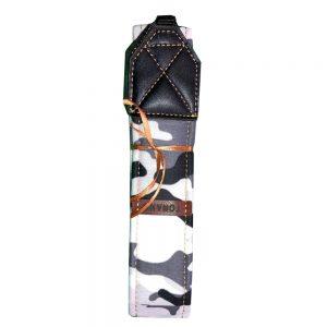 بند دوربين ترنگ ارتشی سفيد طوسی Torang neck strap