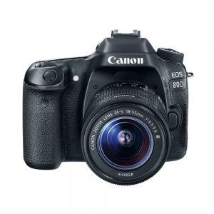 دوربین کانن 80D kit 18-55 iii
