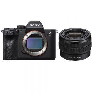 دوربین سونی a7R IV body همراه لنز FE 28-60mm f/4-5.6